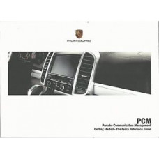 Porsche PCM Quick Reference Guide PCM 3.1 Owners Manual WKD952012115
