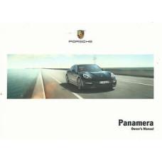 Porsche Panamera Owners Manual 2014 WKD970002115
