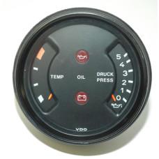 Porsche 911 Oil Temp Pressure Gauge 91164192300