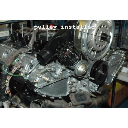 Porsche 993 Motor Abdichten: Porsche 993 RS 964 Engine Pulley Upper 99310605180