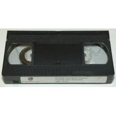Porsche Child Seat Instruction VHS Tape PNA99901700