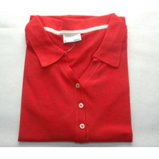 Porsche Design Polo Shirt XL Womans RED