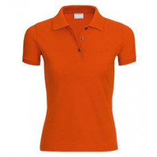 Porsche Design Polo Shirt XS Womans ORANGE WAP9070XS0C