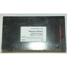 Porsche Showroom Module VHS Tape MAR10000194