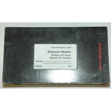 Porsche Showroom Module VHS Tape MAR10000194