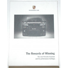 Porsche The Rewards of Winning Cayenne DVD and Booklet MKT00408907