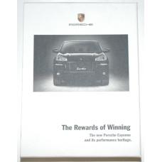Porsche The Rewards of Winning Cayenne DVD and Booklet MKT00408907