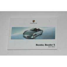 Porsche 987 Boxster Owner's Manual WKD98702108  Manual