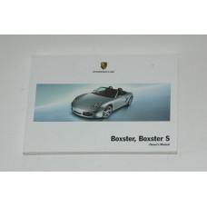 Porsche 987 Boxster Owner's Manual WKD98702108  Manual