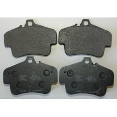 Porsche 996 Pagid Black Brake Pads Front Rear RS-14 E240514010