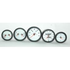 Porsche 993 Gauge Set Speedo Tach Clock Oil Temp Pressure Fuel Oil Level