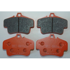 Porsche 997 996 987 986 Pagid Brake Pads Orange 2405 RS4-4 Race Street
