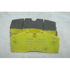 Porsche 993 Front Brake Pads Pagid Yellow RS99