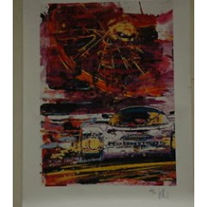 Porsche Poster 962 by Ule Hack