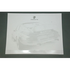 Porsche Design Driver's Selection Desk Pad WAP0500980B