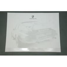 Porsche Design Driver's Selection Desk Pad WAP0500980B