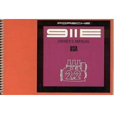 Porsche Owners Manual 911E USA 1971 WKD462423