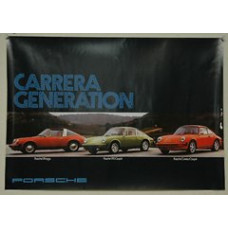 Porsche Poster 911 Carrera Generation 1974