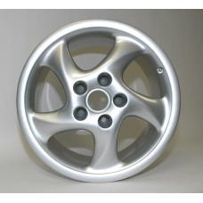 Porsche 993 Turbo Look Wheel Hollow 99336214001 18x10 65mm offset Restored