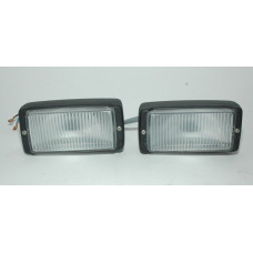 Porsche 911 930 Fog Lights 91163120603 PAIR