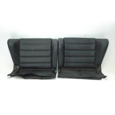 Porsche 911 930 Rear Jump Seats Black Vinyl 91152201760 91152201860