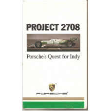Porsche Quest For Indy Project 2708 VHS Tape