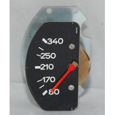 Porsche 911 930 Oil Temperature Gauge Insert 340F