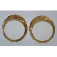 Porsche 911 930 Headlight Rings 91163113501 Brass