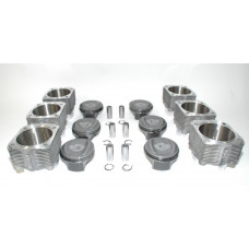 Porsche 993 Twin Turbo Mahle 3.6 100mm Pistons Cylinders 99310391551