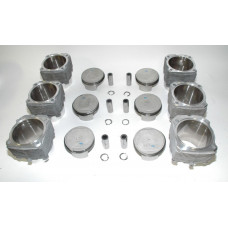 Porsche 965 3.6 Turbo Mahle 3.6 100mm Pistons Cylinders 96410391721