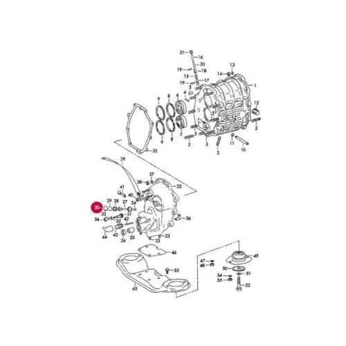 porsche 915 transmission parts diagram  porsche  auto