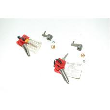 Porsche 911 Door Lock Tumbler 91153194400 91153194300 Pair