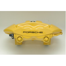 Porsche 997 Turbo Rear Brake Calipers Yellow 99735242632 99735242532