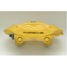 Porsche 997 Turbo Rear Brake Calipers Yellow 99735242632 99735242532