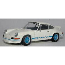 Porsche 911 RS Model White Blue Graphics Genuine WAP0210120B