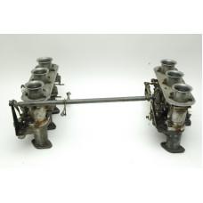 Porsche 911 Solex Set 1 Crossbar 90110810300 90110803903 90110804003 90110806101