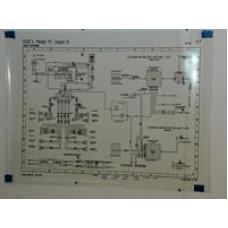 Porsche Poster, Schematic 928 Radio Wiring