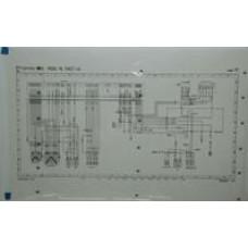 Porsche Poster, Schematic 993 ABS Wiring