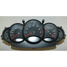Porsche 986 Boxster Instrument Cluster Manual 9866411030970C 17455 mls