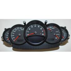 Porsche 996 GT2 Instrument Cluster Manual 9966412130570C 7066 mls
